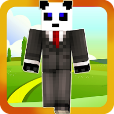 Pandas skins for Minecraft