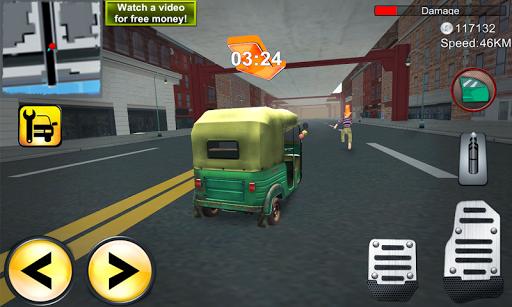 Tuk Tuk Car City Rickshaw 3D