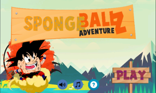 Sponge Ball Z Adventure FREE - screenshot