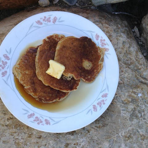 Whole Wheat Sour Dough Pancakes