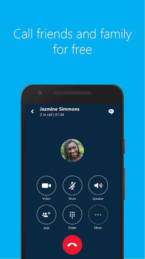 Skype - free IM & video calls Screenshot 3