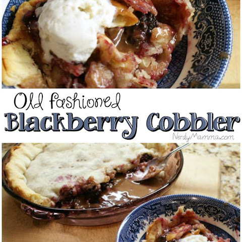 Mamma's Blackberry Cobbler