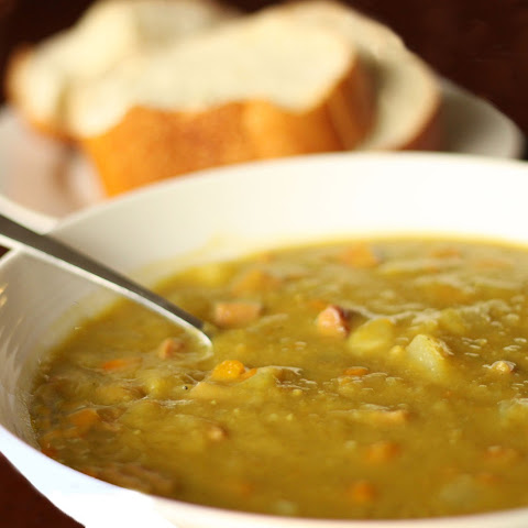 Crockpot Recipe For Split Pea Soup With Chicken Sausage And Carrots ...