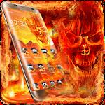Calavera Hellfire Lava Skull Theme Icon