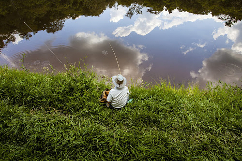 Fishing in the clouds by Santiago Reis Sgarbi - People Fine Art ( clouds, itapira, santiago reis, são paulo, fishing, brasil )