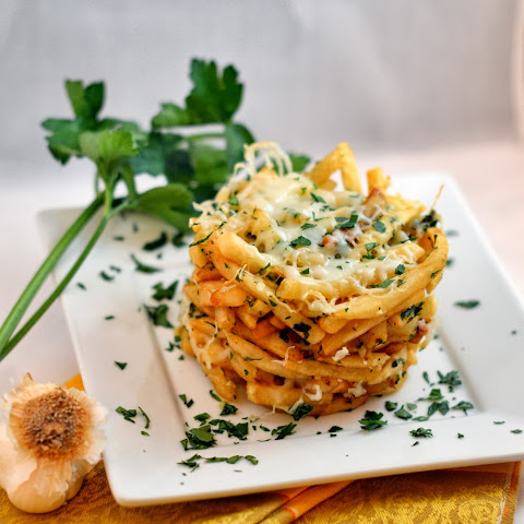Garlic Parsley French Fry Tower