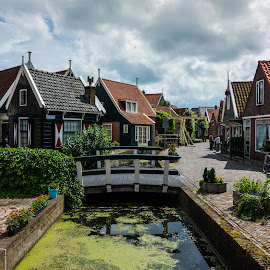 Quaint by Nathan  Pucheril - Buildings & Architecture Homes ( peaceful, village, amsterdam, bridge, quiet, netherlands )