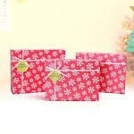 Customized Handmade Stamping Luxury Cardboard Paper Wine Carton Window Box