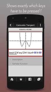 Calculator Manual CASIO PRO - screenshot