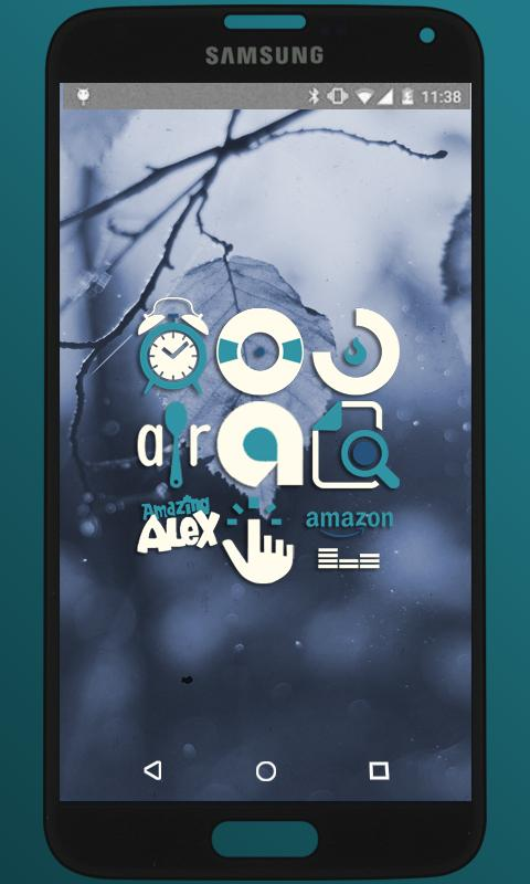 BlueMia - icon pack Screenshot 0