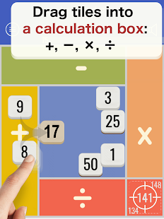 2by2: Simple brain training math free game APK for Bluestacks