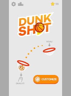 Dunk Schuss android spiele download
