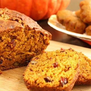 Pumpkin-Cranberry-Walnut Bread
