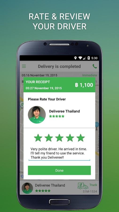 Deliveree - Delivery Services Screenshot 6