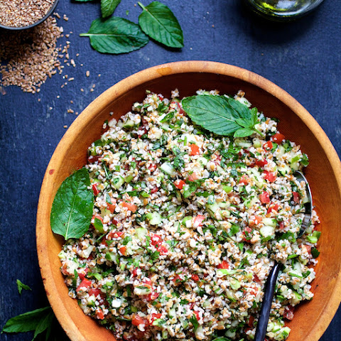 Tabouli with Fresh Jalapeno