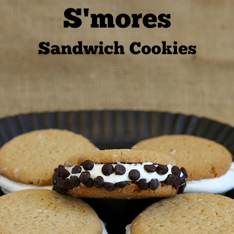 S'mores Sandwich Cookies {Gluten-free, dairy-free}