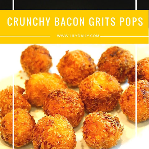 Gratifyingly Crunchy Bacon Grits Pops