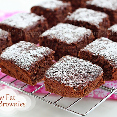 Low-fat Banana Brownies