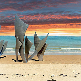 D-Day memorial by Costa Philippou - Buildings & Architecture Statues & Monuments (  )