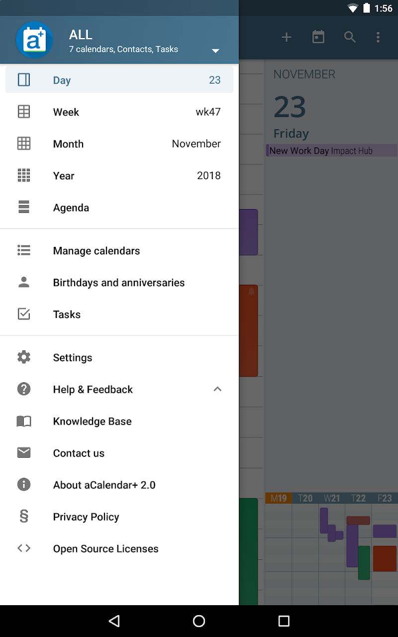 aCalendar+ Calendar & Tasks Screenshot 12