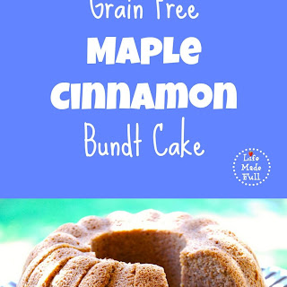 Grain Free Maple Cinnamon Bundt Cake