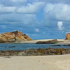 Treasure Island Cove by Jeannine Jones - Landscapes Beaches