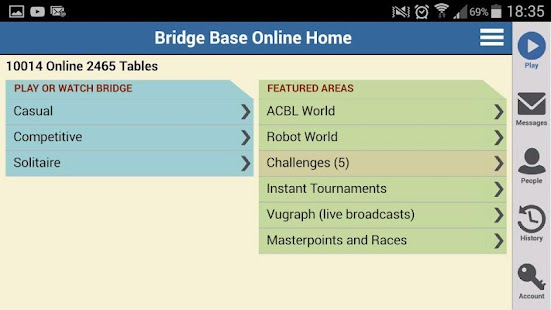 Bridge Base Online- screenshot thumbnail