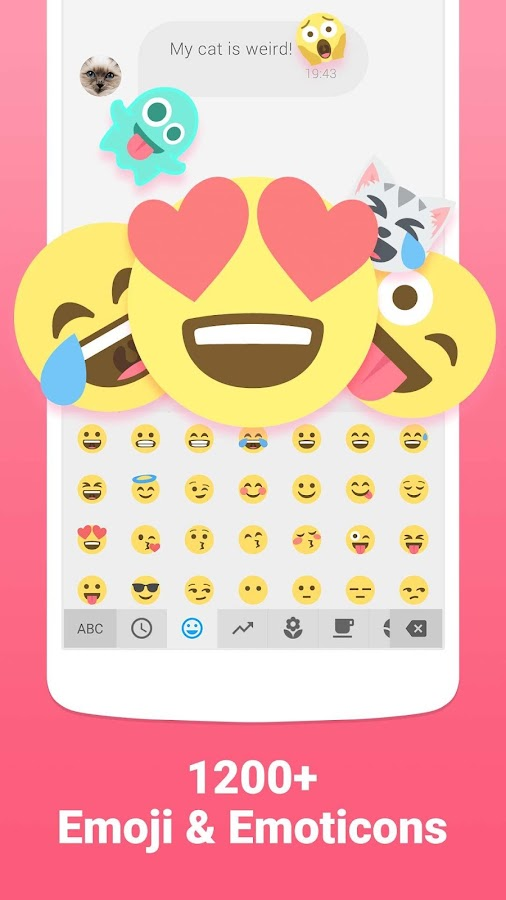 Facemoji Emoji Keyboard + GIFs Screenshot 0