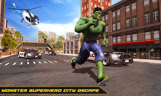 Incredible Monster : Superhero City Escape Games