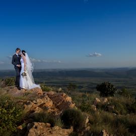 View by Lood Goosen (LWG Photo) - Wedding Bride & Groom ( wedding photography, wedding photographers, wedding day, weddings, wedding, brides, couple, bride and groom, wedding photographer, bride, groom, bride groom,  )
