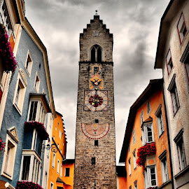 Vipiteno, Italy by Francis Xavier Camilleri - City,  Street & Park  Historic Districts