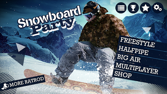 Game Snowboard Party Lite apk for kindle fire