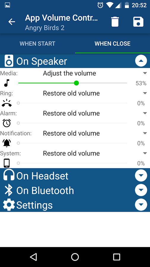App Volume Control Pro Screenshot 2