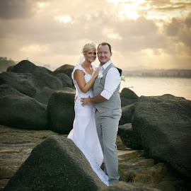 Let the love shine by Tamika Vickers - Wedding Bride & Groom