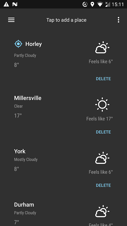 Forecast - Weather & Widgets Screenshot 1