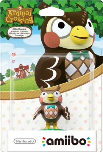 Blathers packaged (thumbnail) - Animal Crossing series