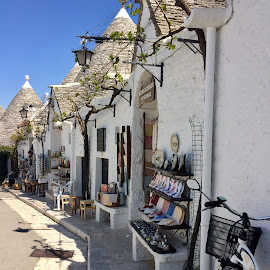 UNESCO WORLD HERITAGE SITE, Alberobello, Italy  by Ginny Serio - City,  Street & Park  Historic Districts ( #trullo rooftops )