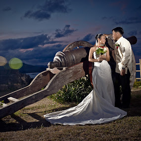 Cannon of Love by Jessie Lebante - Wedding Bride & Groom