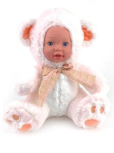 """Кукла серии """"Город Игр"""" Мишка белый 25 см"""
