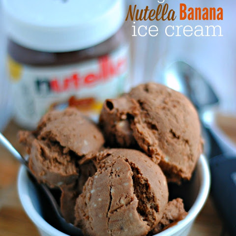 Nutella Banana Ice Cream