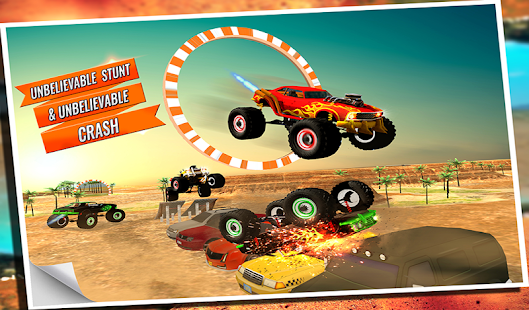 Game 4x4 offroad Monster Truck Impossible Desert Track apk for kindle fire