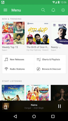 Saavn Music & Radio Apk Download Free for PC, smart TV