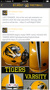 Gilbert Football - screenshot
