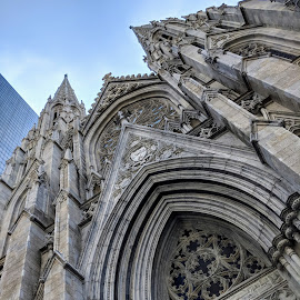 St. Patrick's Cathedral by Erika  Kiley - Novices Only Objects & Still Life ( gray, church, new york )