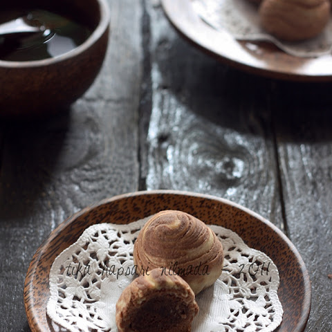 Chocolate Chinese Flaky Pastries [Printable Recipe]