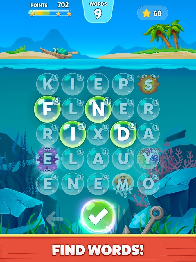 Bubble Words - Letter Splash Screenshot 6