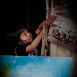 Ho Ain_20150329_09.54.29 by Chantal Reed - Babies & Children Children Candids ( ho ain, pictures, vietnam, young girl, paintings, ornaments )