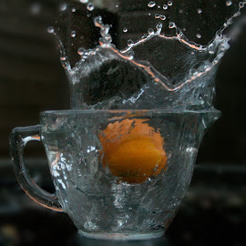 Water splash by Ross E - Abstract Water Drops & Splashes ( waters, splash, drops, wet, messy, slow shutter )