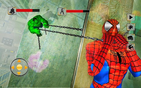 Incredible Monster vs Super Spiderhero City Battle for pc