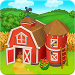Farm Town: Happy farming Day & with farm game City Icon